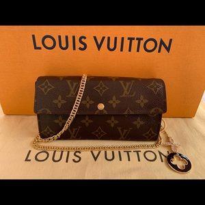 LV monogram wallet Cross Bag